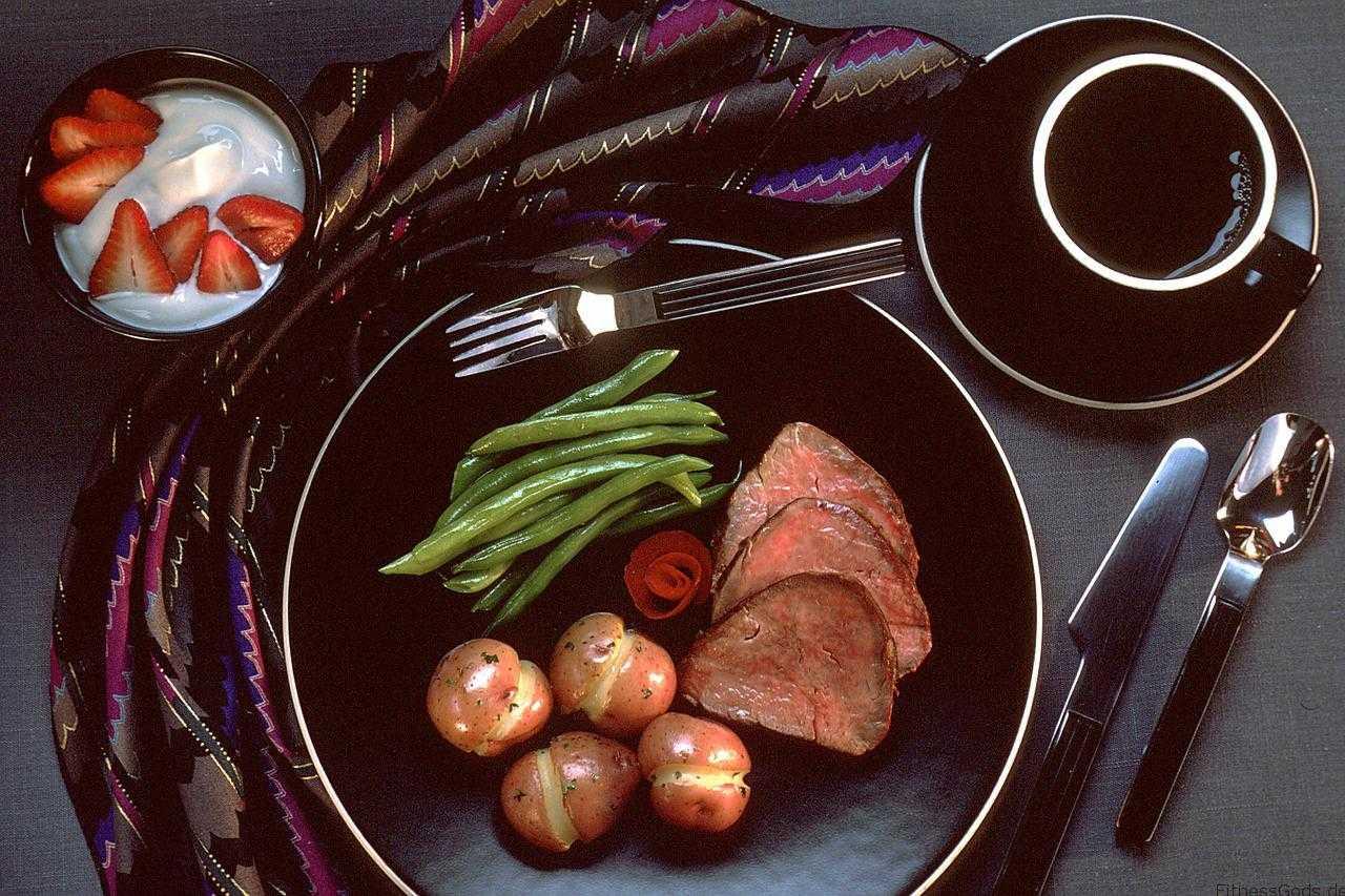 Steak zum Muskelaufbau