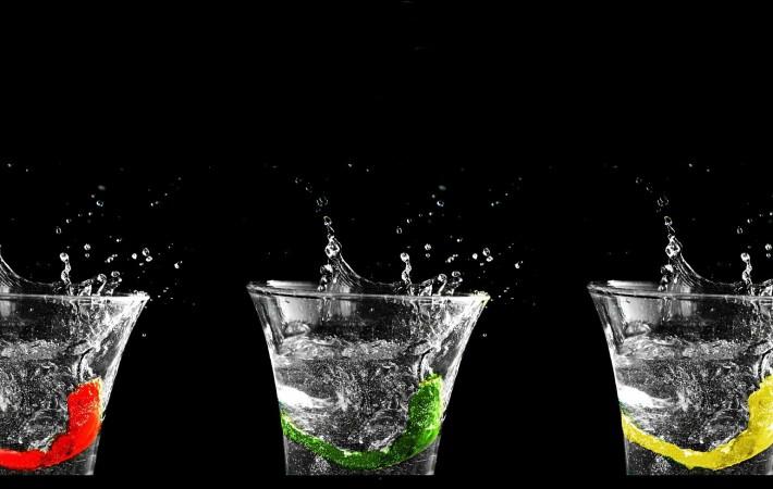 Viel trinken hilft beim Muskelaufbau