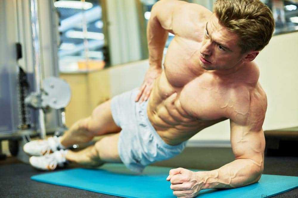 Sixpack Trainingsplan für perfekte Bauchmuskeln Copyright: Shutterstock