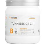 Der ProFuel Tunnelblick 2.1 ist ein Trainings Booster mit tollem Geschmack