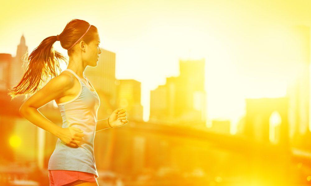 Joggen in der Sonne für mehr Vitamin D
