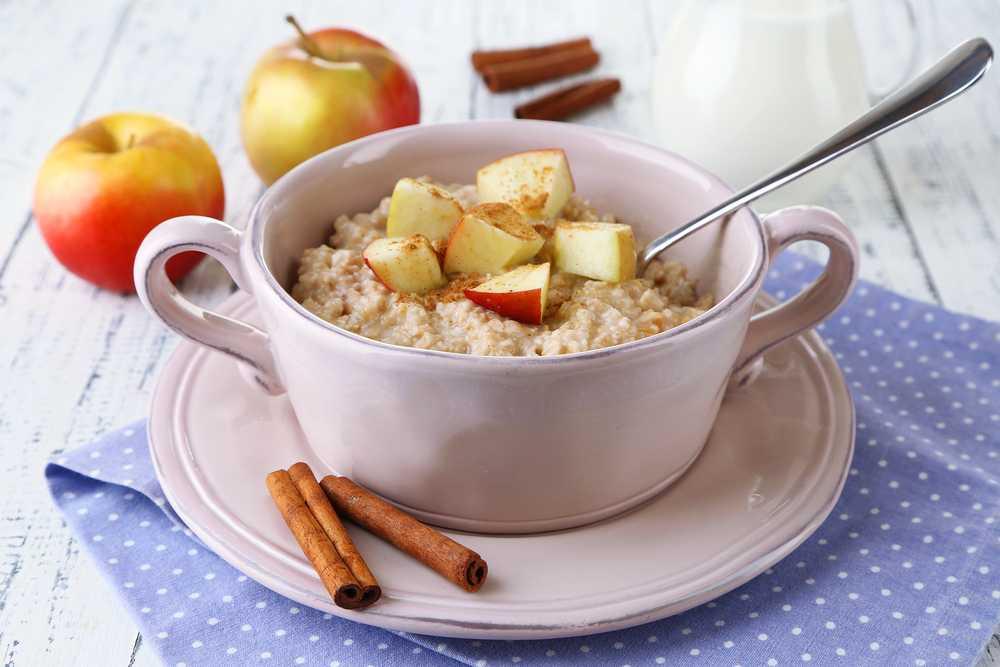 apple strudel porridge - Apfelstrudel Porridge