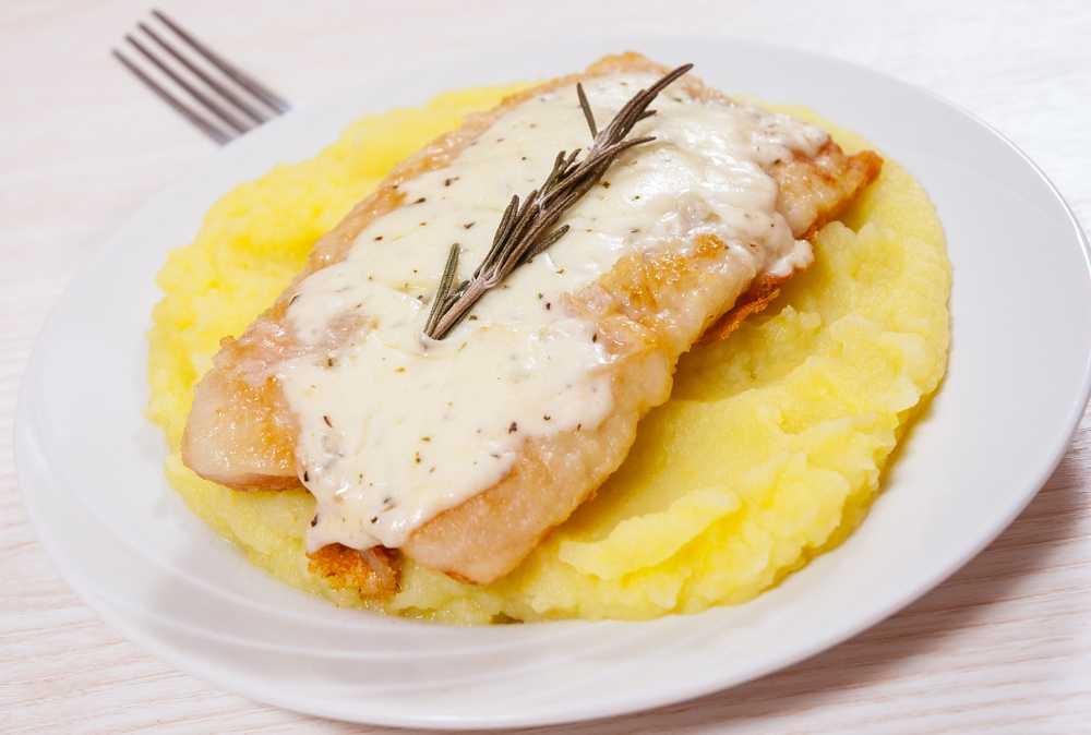 Pangasiusfilet mit Kartoffelpüree