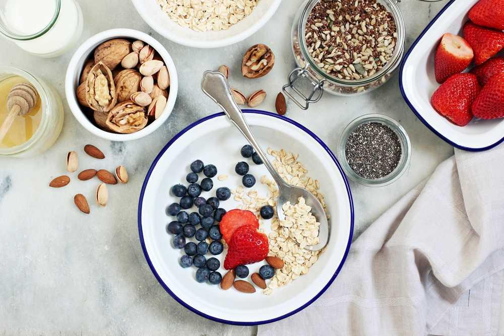 porridge - Früchte Porridge