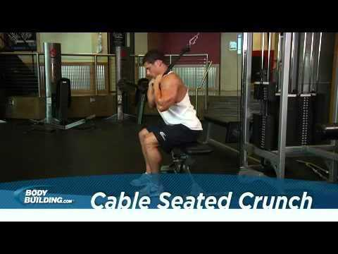 crunches sitzend kabelzug - Crunches, sitzend, Kabelzug