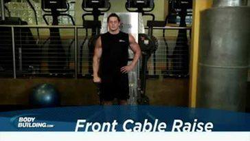 frontheben einarmig am kabelzug 364x205 - Frontheben einarmig am Kabelzug